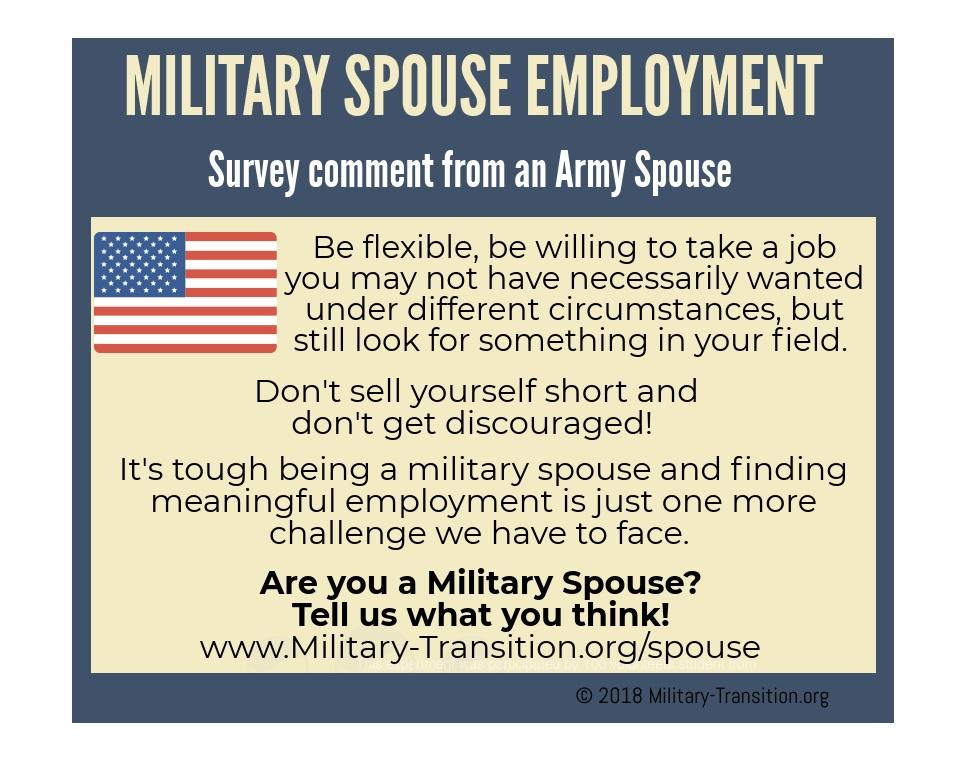 Military Spouse Employment