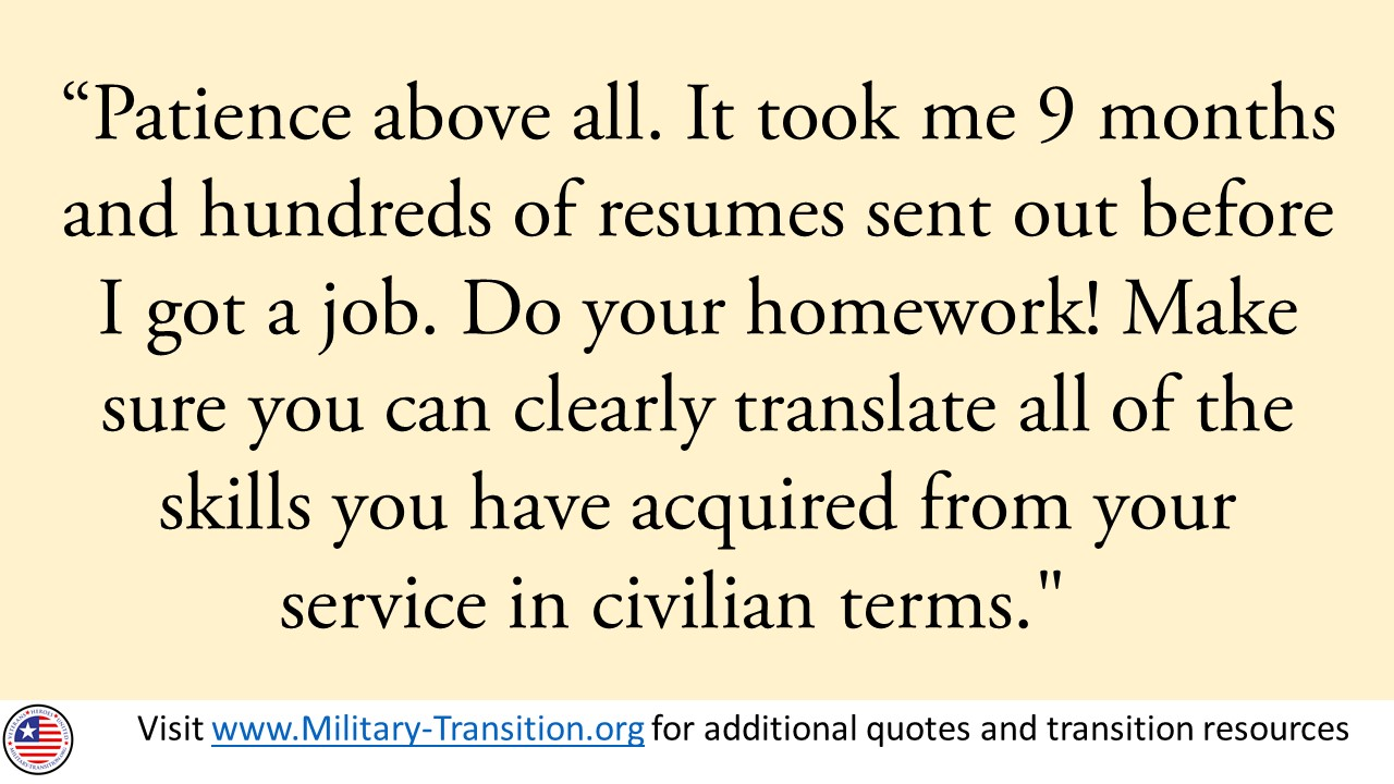 miliary-transition.org military quote