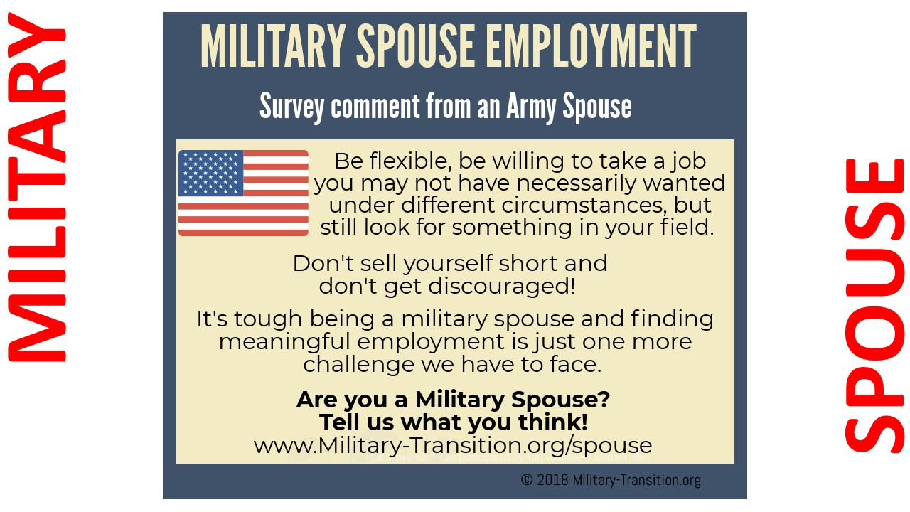 army spouse jobs