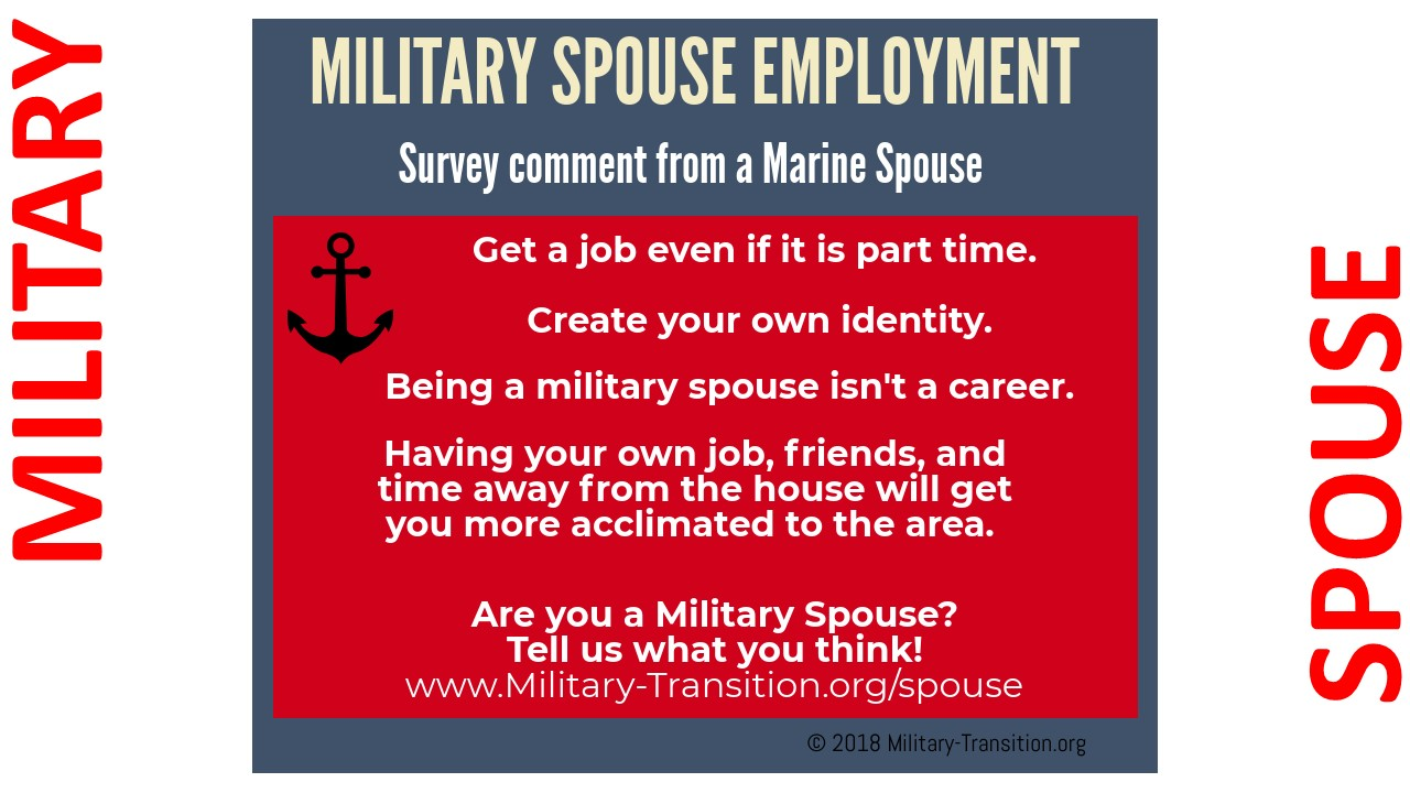 marine spouse jobs